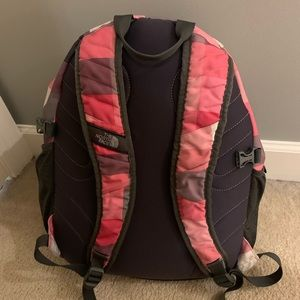 North Face Wasatch Backpack Pink Squares